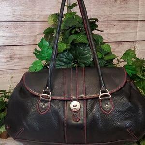 Cole Haan Pink Stitching Shoulder Bag